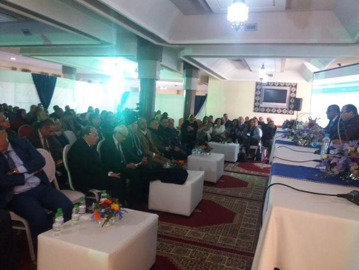 بالصور: جمعية الأعمال الإجتماعية للصندوق الوطني للضمان الإجتماعي بمراكش تعقد جمعها العام