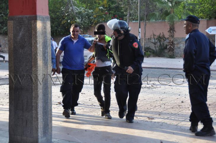 اعتقال طالب بعد نحو سنتين على أحداث 19 ماي الدامية بالحي الجامعي بمراكش