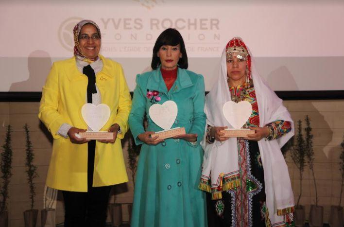 تكريم 3 نساء تميزن في مجال المحافظة على البيئة خلال جائزة