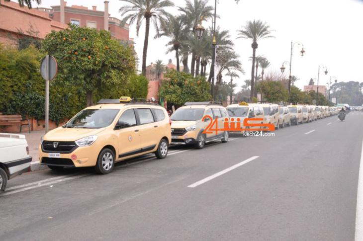 ارتفاع أسعار المحروقات يؤجج احتجاجات مهنيي سيارات الأجرة بمراكش
