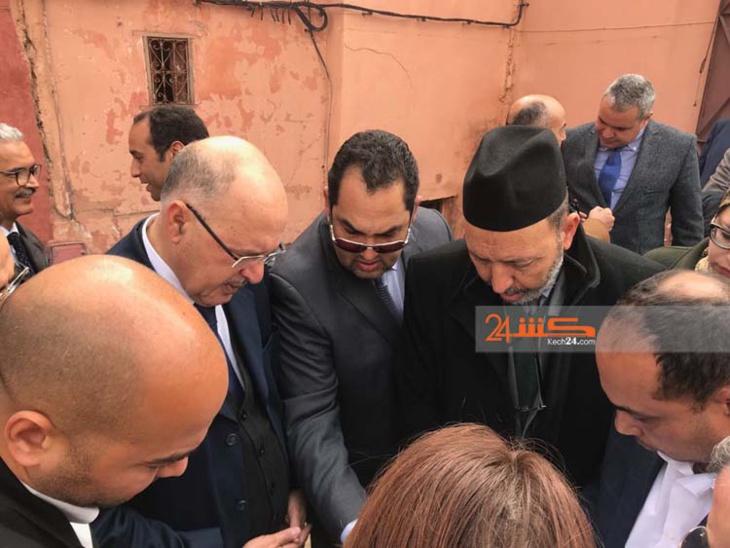 الوالي صبري يقود وفدا رسميا لتفقد أوراش بالمدينة العتيقة لمراكش
