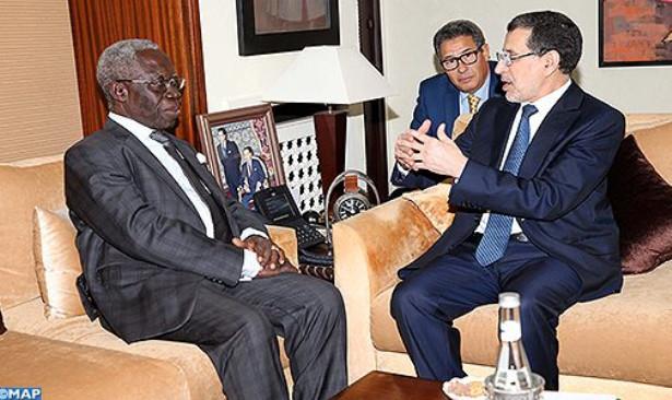 غانا تجدد دعمها لموقف المغرب بخصوص قضية الوحدة الترابية