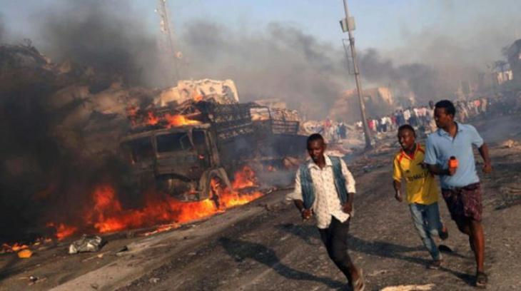 22 قتيلا في انفجار سيارة ملغومة وإطلاق نار قرب مقر الرئاسة في مقديشو