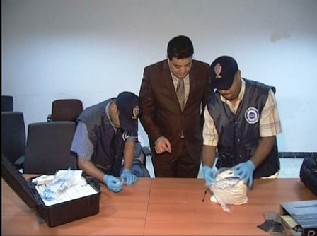 أمن مطار محمد الخامس يوقف نيجيريا ضبط متلبسا بمحاولة تهريب كمية من المخدرات