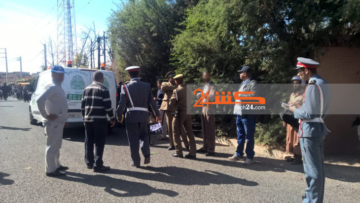 حافلة لنقل الركاب تقتل شخص ضواحي مراكش