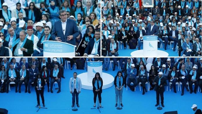 """أخنوش يقدم هوية حزبه وملامح عرضه السياسي ويعلن عن إطلاق """" مسار الثقة""""+ فيديو"""