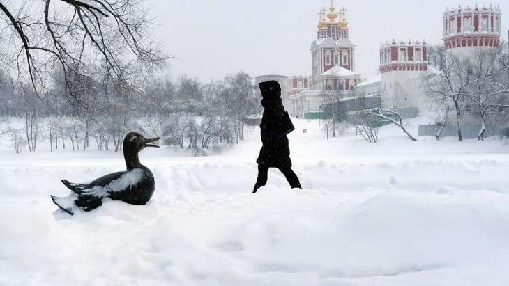 معدلات قياسية لتساقط الثلوج في موسكو هذا الشتاء