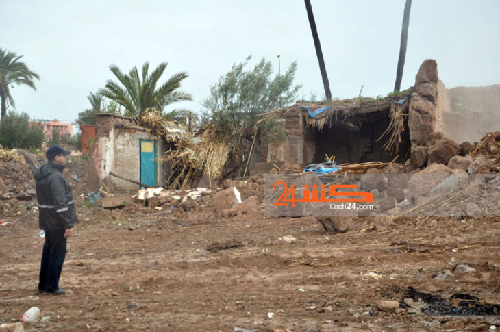 السلطات تٌهدِّم دوارا بمراكش + صور