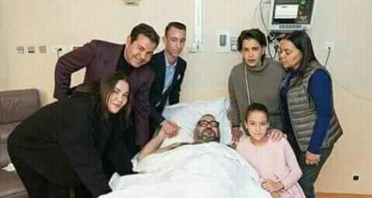 عاجل.. الملك محمد السادس يخضع لعملية جراحية + صورة
