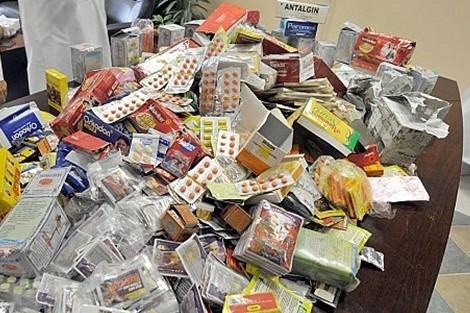 توقيف شخصين متورطين في الاتجار غير المشروع في الأدوية
