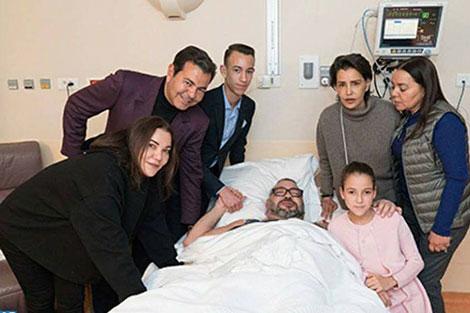 صور جديدة تطمئن المغاربة على صحة الملك محمد السادس