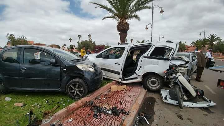 سقوط أولى ضحايا حوادث السير في رمضان بمراكش + صور | Kech24: Maroc ...