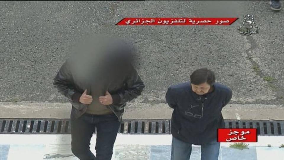 اول فيديو لاعتقال بوتفليقة والجنرال طرطاق