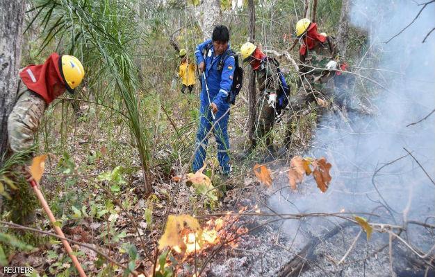 الرئيس ذهب لإخماد حرائق الأمازون.. فتاه في الأدغال