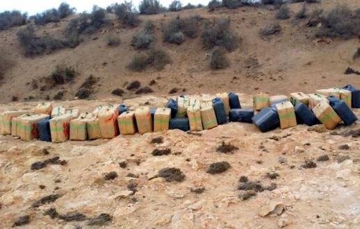 إحباط عملية تهريب نحو طن ونصف من مخدر الشيرا باتجاه اسبانيا