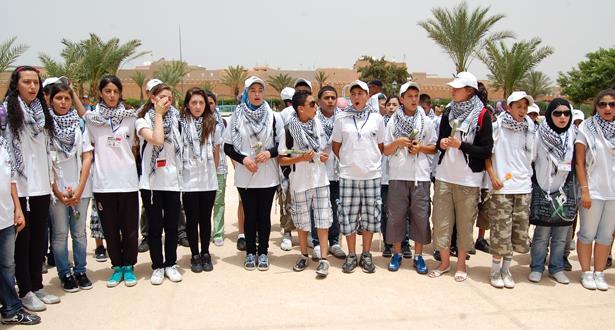 أطفال مقدسيون يصلون إلى المغرب للاستفادة من المخيم الصيفي