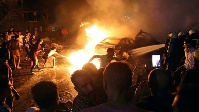 """موقف جديد للداخلية المصرية: """"حسم"""" الإخوانية تقف وراء تفجير معهد الأورام"""