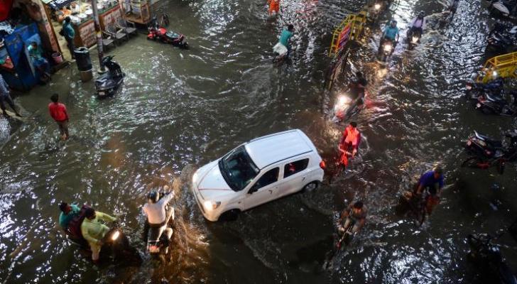الهند: ارتفاع عدد قتلى الأمطار الموسمية إلى أزيد من 200 شخص