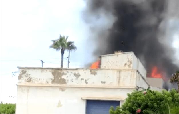 النيران تأتي على فيلا بعين الذئاب  قبل افتتاحها مطعما