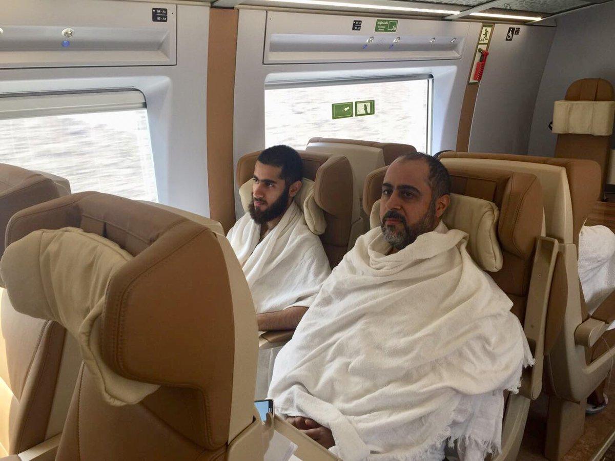 قطار الحرمين السريع ينقل الحجاج بين مكة والمدينة للمرة الأولى