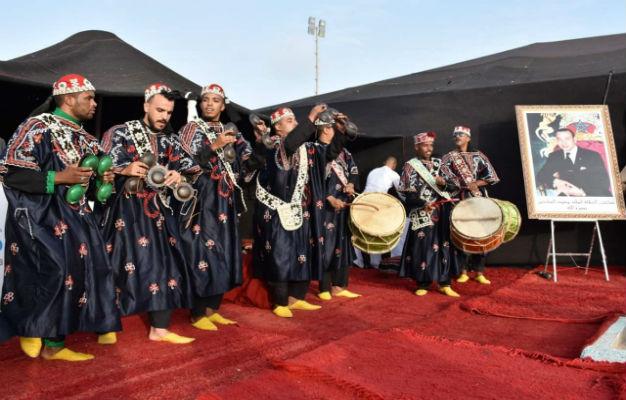 إنطلاق فعاليات مهرجان وادي الذهب بحضور دنيا باطمة احمد شوقي وفريد غنام .