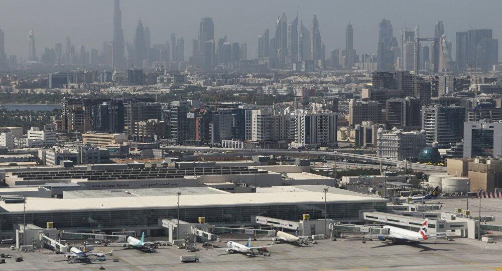 طائرة مسيرة مشبوهة تعطل حركة الطيران في مطار دبي الدولي