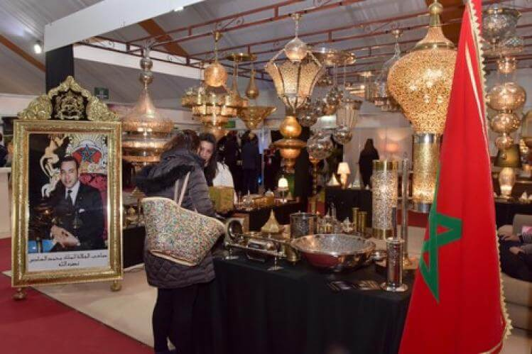 المغرب يتألق في مجال فن العيش والديكور والتصميم بباريس