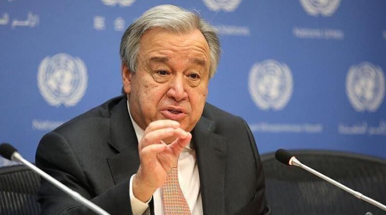 الأمين العام للأمم المتحدة يدعو لرفع السودان من قائمة الإرهاب