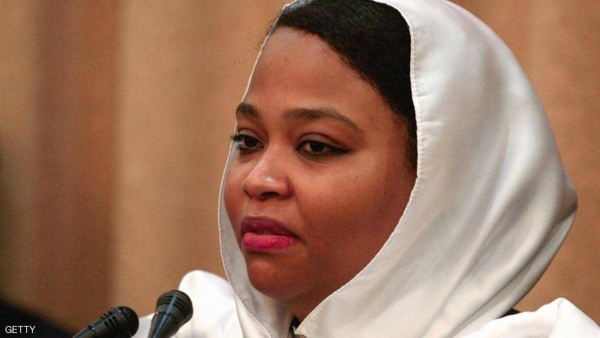دون نفيها لموضوع الردة..وزيرة سودانية  تتجه للقضاء لاتهام داعية بخرقه لقواعد حرية العقيدة