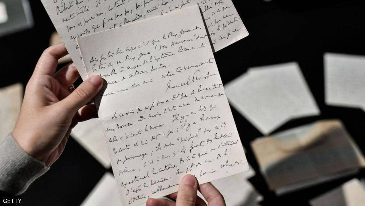 فشل مزاد على رسائل روائي فرنسي شهير