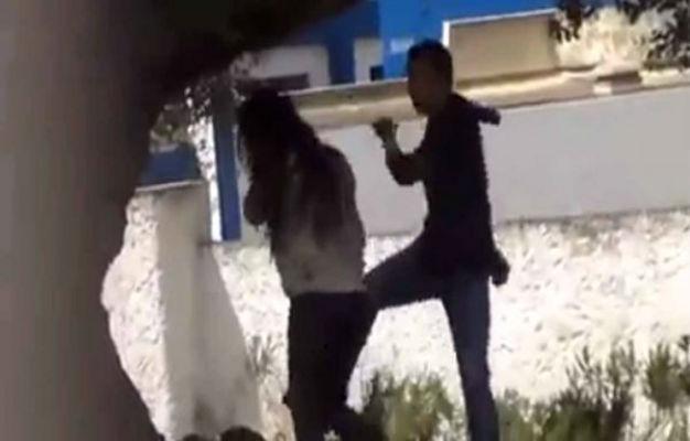 شريط فيديو يوثق لاعتداء شاب على فتاة بوحشية يهز الفايسبوك