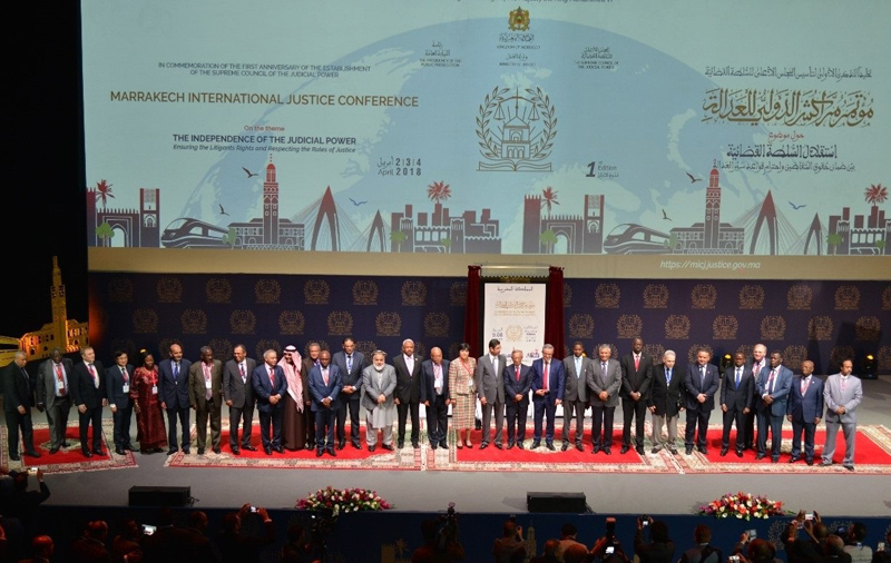 مراكش تحتضن الدورة الثانية للمؤتمر الدولي للعدالة