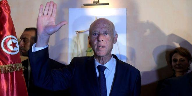 """قيس سعيد يتعهد بأن يكون """"رئيسا لكل التونسيين والتونسيات"""""""