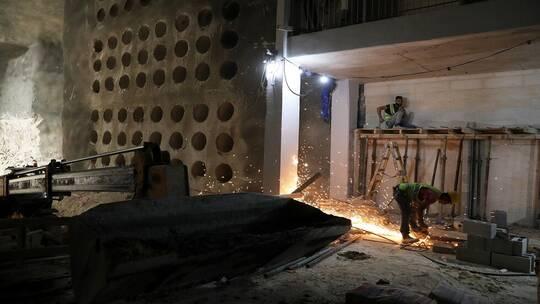 الإحتلال الإسرائيلي يبني مقبرة كبيرة تحت الأرض  بالقدس