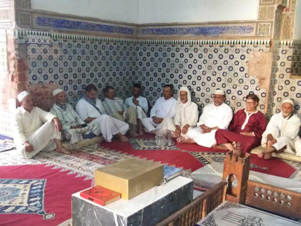 الزاوية البوعزاوية تنظم مجلس الذكر البوعزاوي الثاني من برنامجها السنوي