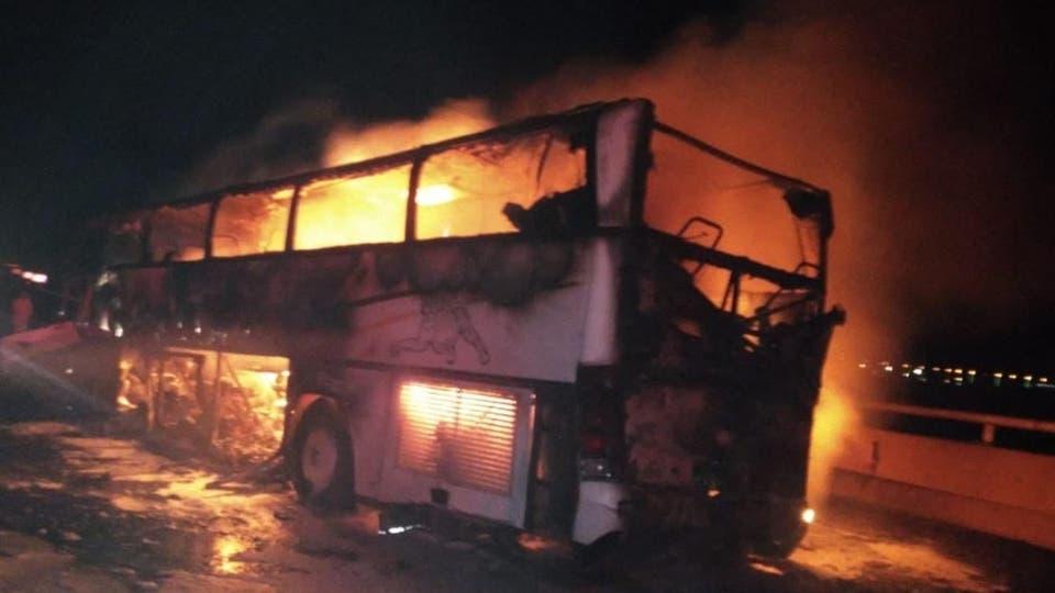 فاجعة: مصرع 35 معتمرا وإصابة آخرين إثر حادث سير بالسعودية
