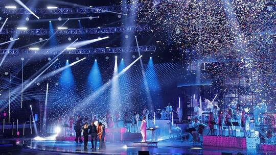 مغنية تتعرى على السجادة الحمراء في حفل جوائز