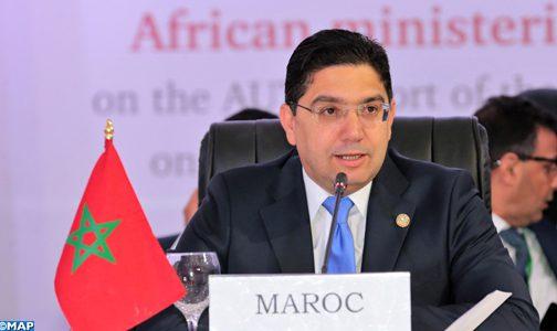 من برلين: بوريطة يؤكد على أولوية إفريقيا في السياسة الخارجية للمغرب