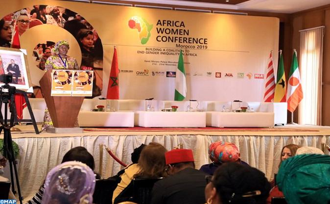 انطلاق اشغال مؤتمر النساء الافريقيات الرائدات بمراكش