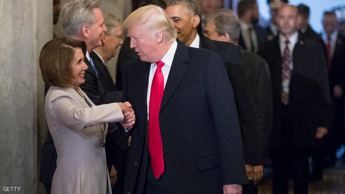 رئيسة مجلس النواب تأمر بصياغة لوائح الاتهام ضد ترامب