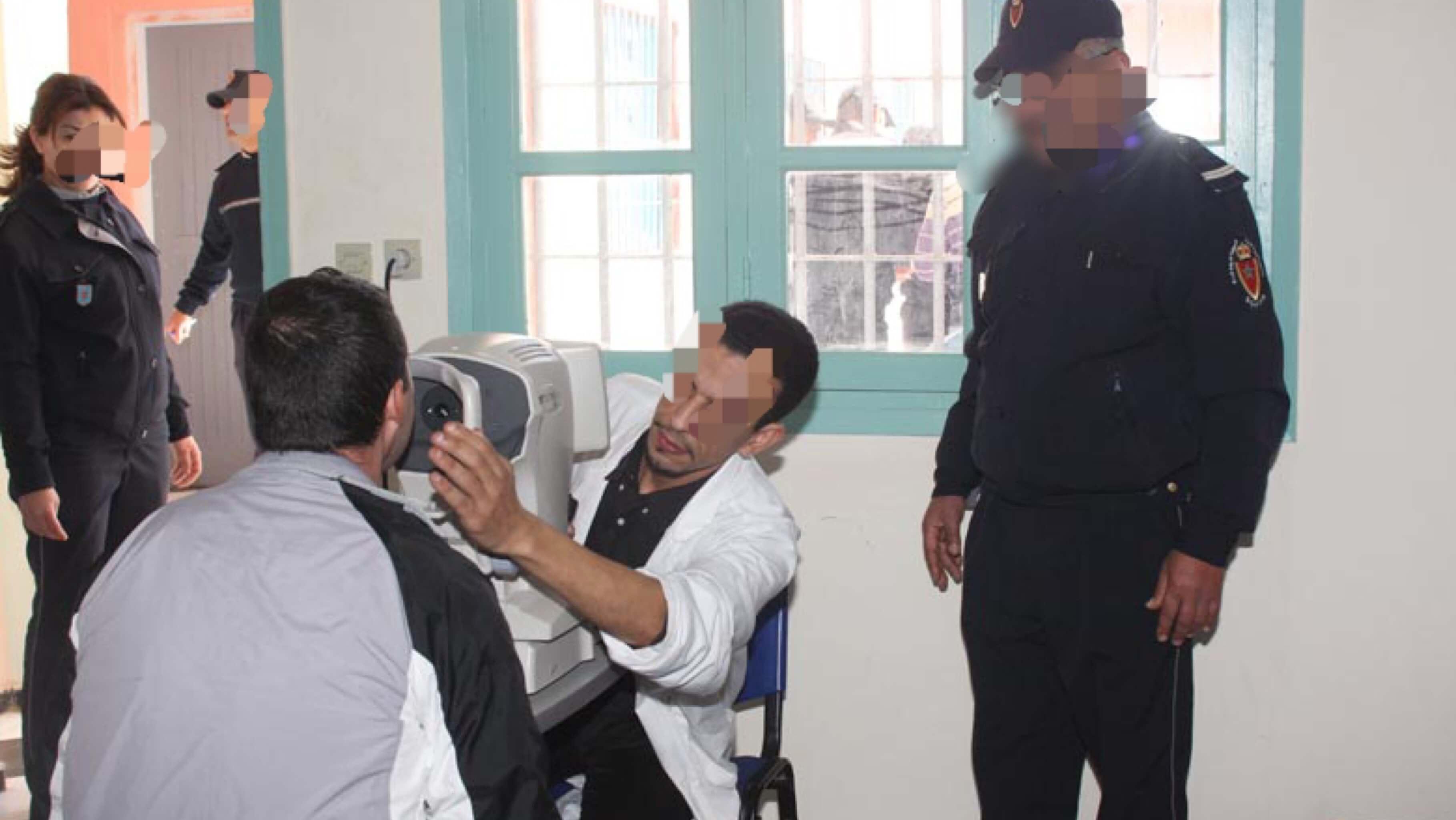 استفادة أزيد من 600 نزيل بسجن آسفي من قافلة طبية