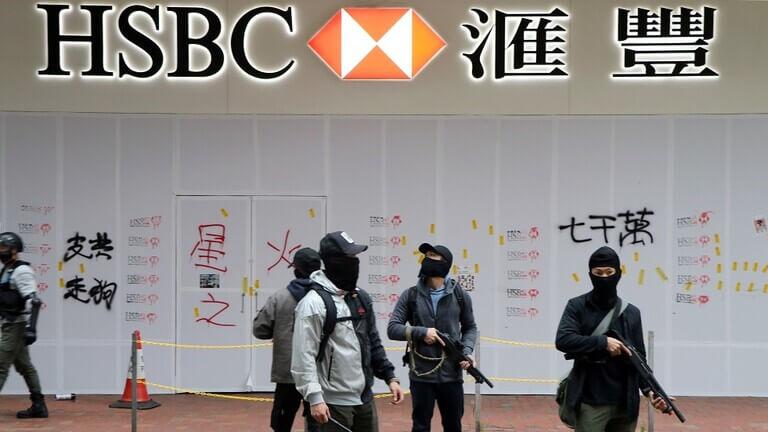 اعتقال المئات بهونغ كونغ خلال احتجاجات اليوم الأول من 2020