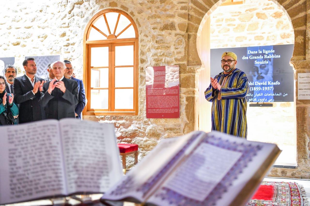 الملك يقيم مأدبة عشاء على شرف أعضاء الطائفة اليهودية المغربية