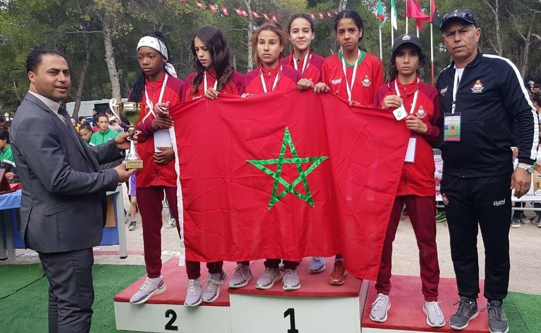 المغرب يهيمن على العدو الريفي المدرسي مغاربياً
