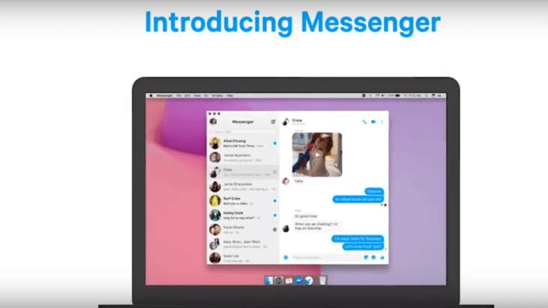 """""""فيسبوك"""" تسهل التواصل عبر الفيديو بنسخة Messenger للحواسب"""