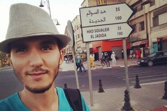 ياسر عبادي : اعتقلت بسبب تضامني مع أم الزفزافي