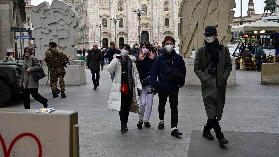 انخفاض عدد الوفيات وحالات العدوى الجديدة في ايطاليا