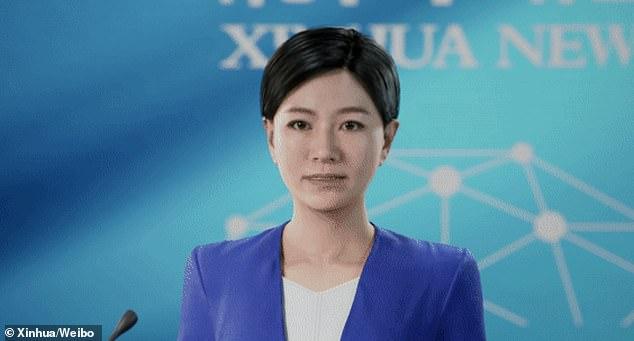"""الصين تكشف عن أول مقدمة أخبار """"ثلاثية الأبعاد"""" في العالم"""