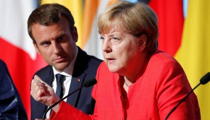 قمة ألمانية فرنسية لبحث صندوق التعافي الاقتصادي الاوروبي