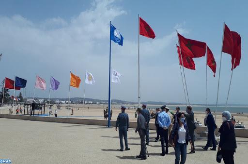 رفع اللواء الأزرق بمدينة الصويرة للسنة ال 16 على التوالي